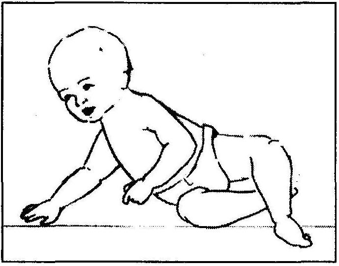 kiedy dziecko siada